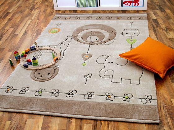 Lifestyle Kinderteppich Babywelt Beige online kaufen