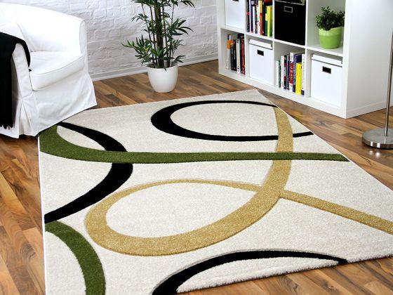 Designer Teppich Maui Creme Loops in 5 Größen
