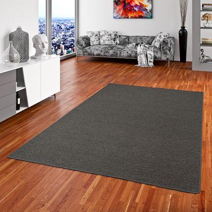 Teppich Bentzon Flachgewebe Anthrazit online kaufen