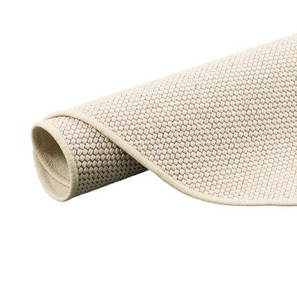 Teppich Bentzon Flachgewebe Sand Rund online kaufen