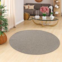 Teppich Bentzon Flachgewebe Grau Blau Rund in 7 Größen online kaufen