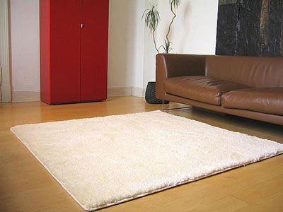 Hochflor Shaggy Teppich Palace Creme 80x160 cm  online kaufen