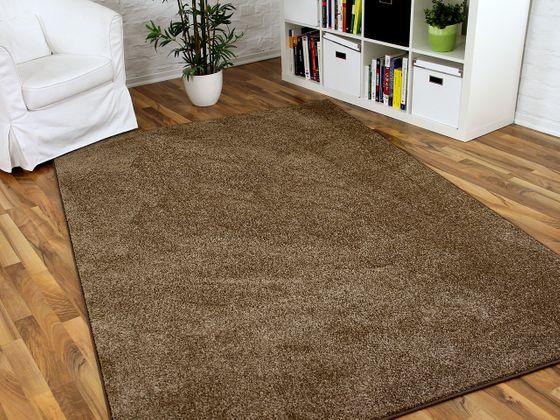 Hochflor Velours Teppich Triumph Karamell in 24 Größen online kaufen