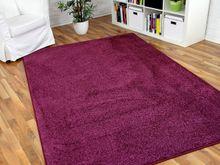 Hochflor Velours Teppich Triumph Lila in 24 Größen online kaufen