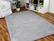 Hochflor Velours Teppich Triumph Hellgrau in 24 Größen online kaufen