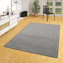 Hochflor Velours Teppich Belini Melange Anthrazit in 24 Größen online kaufen