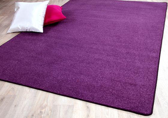 Trend Velours Teppich Joy Lila  online kaufen