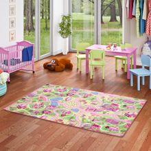 Kinder Spiel Teppich Girls Rosa Village online kaufen