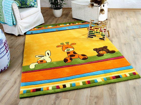 Lifestyle Kinderteppich Giraffe Gelb  online kaufen