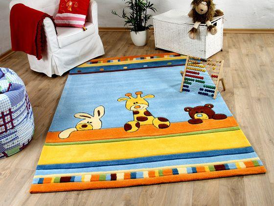 Lifestyle Kinderteppich Giraffe Blau  online kaufen