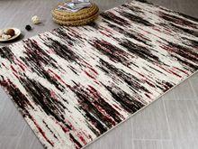 Designer Teppich Arizona Schwarz Rot Verlauf - ABVERKAUF online kaufen