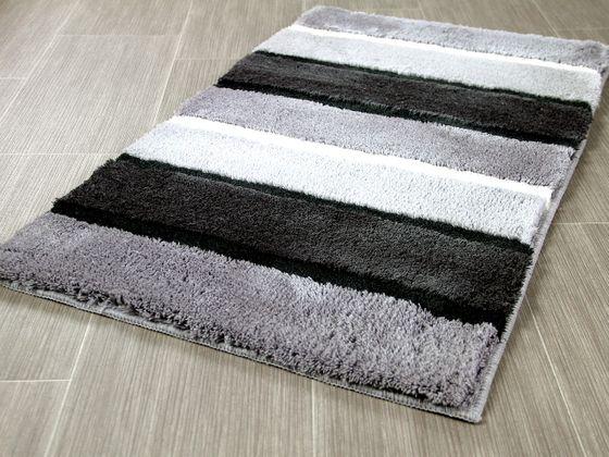 Pacific Badteppich Bali Grau Streifen in 5 Größen online kaufen