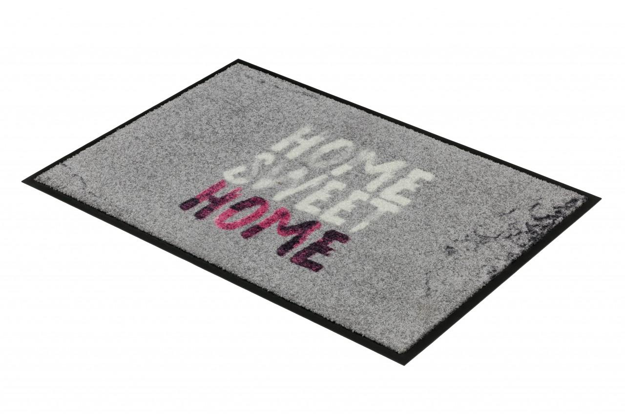 fu matte sch ner wohnen broadway home sweet pink in 2 gr en ebay. Black Bedroom Furniture Sets. Home Design Ideas