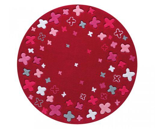 ESPRIT Kinderteppich Bloom Field Rot