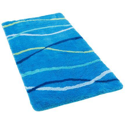 Pacific Badteppich Nevis Blau Streifen