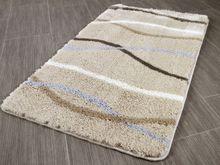 Pacific Badteppich Nevis Sandbeige Streifen in 5 Größen online kaufen