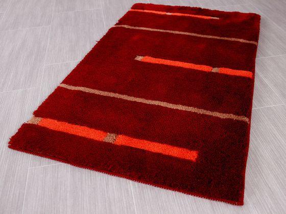 Pacific Badteppich Kabara Rot Streifen in 5 Größen online kaufen