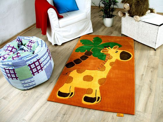 Lifestyle Kinderteppich Play Giraffe Orange online kaufen