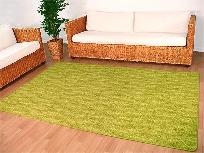 Teppich Hochflor Prestige Wave Grün