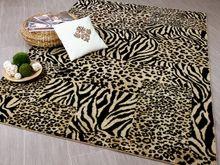 Designer Teppich Suite Leopard Zebra Beige online kaufen