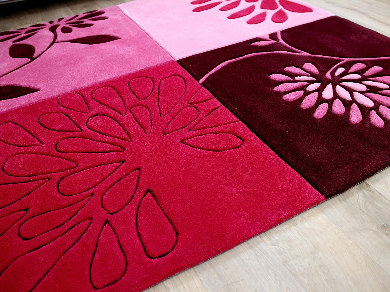 lifestyle classic teppich pink blumen teppiche. Black Bedroom Furniture Sets. Home Design Ideas