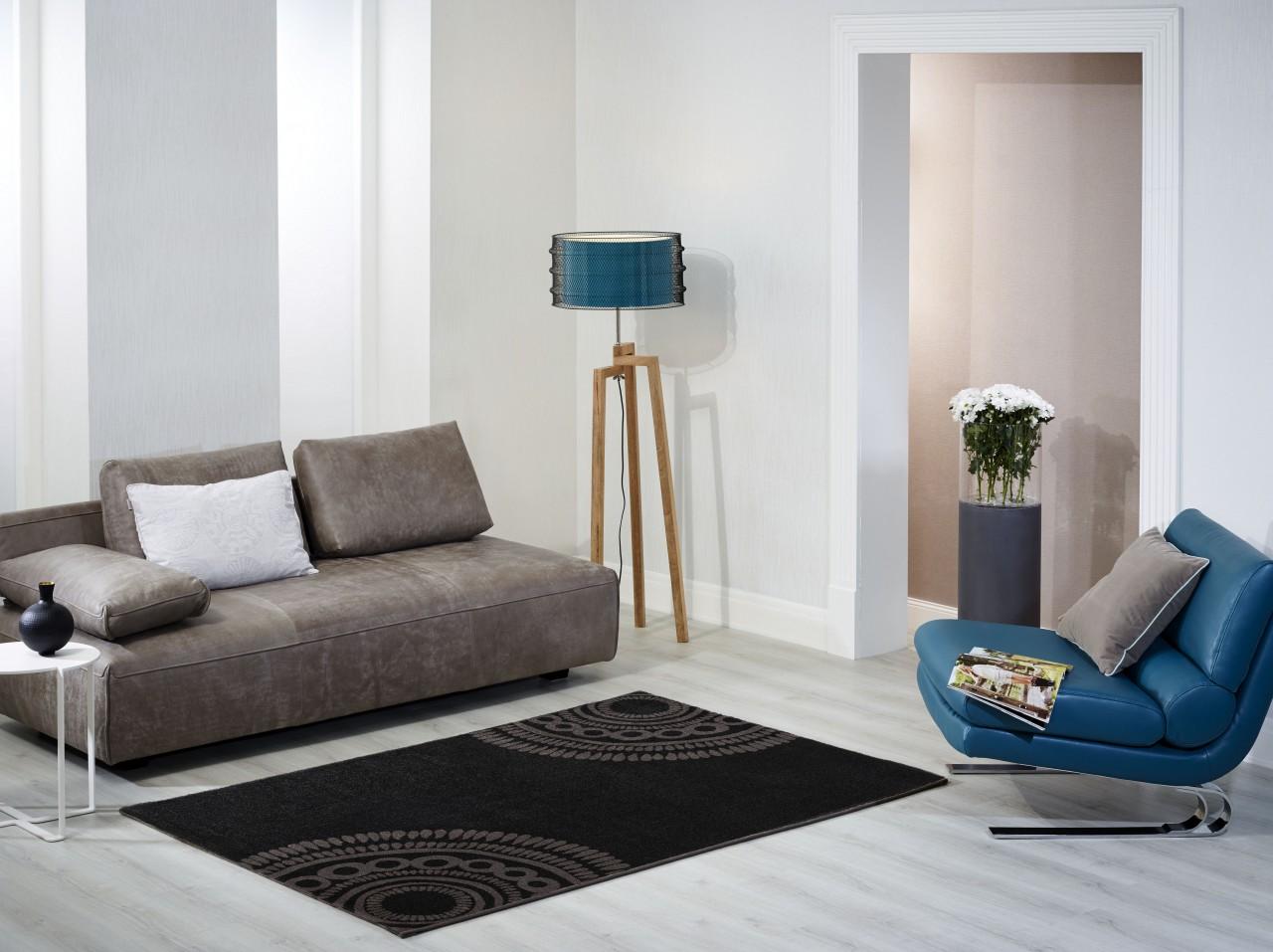 designer teppich barbara becker balance anthrazit teppiche. Black Bedroom Furniture Sets. Home Design Ideas