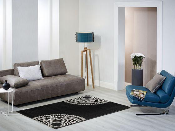 Designer Teppich Barbara Becker Balance Schwarz online kaufen