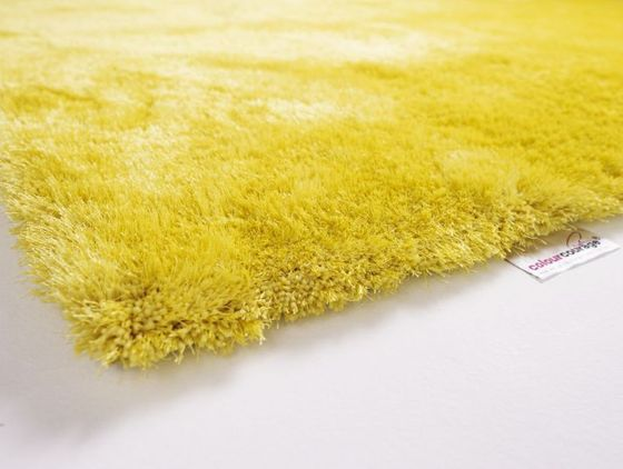 Designer Hochflor Shaggy Lars Contzen colourcourage Curry online kaufen