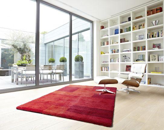 Astra Luxus Teppich Livorno Rot Trend online kaufen