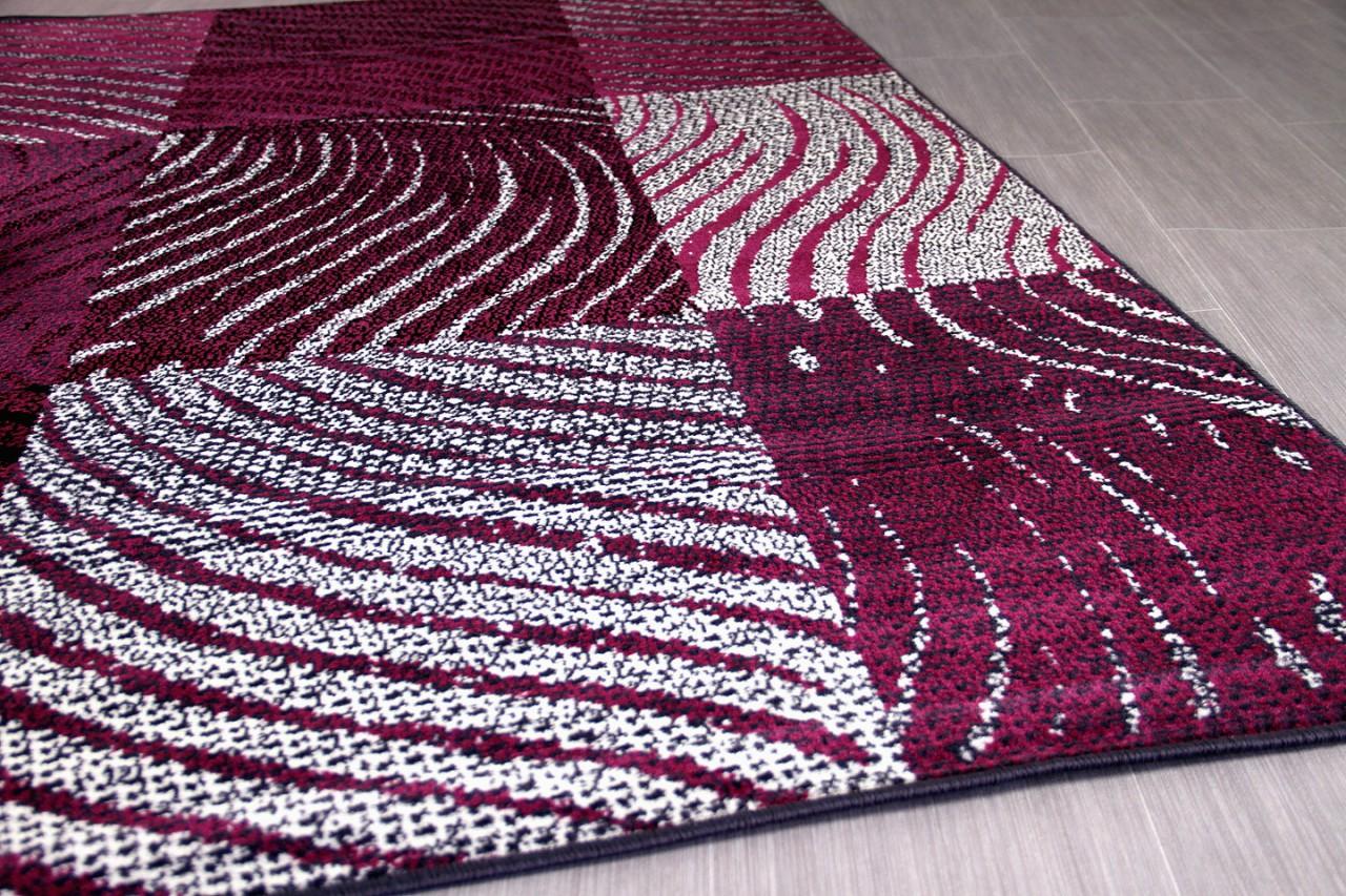teppich trendline zebra karo schwarz lila in 4 gr en teppiche designerteppiche trendline teppiche. Black Bedroom Furniture Sets. Home Design Ideas