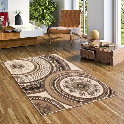 Teppich Trendline Mandala Beige Braun in 4 Größen online kaufen