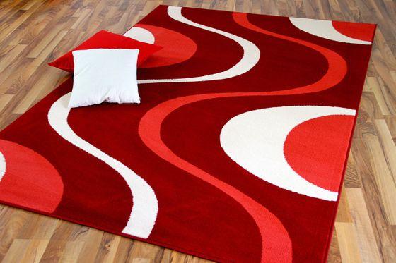 Teppich Modern Trendline Corall Creme Retro online kaufen
