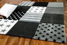 Kinder Teppich Maui Kids Grau Sterne online kaufen