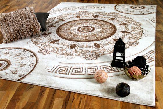 Designer Orient Teppich Zeugma Ornament Creme online kaufen