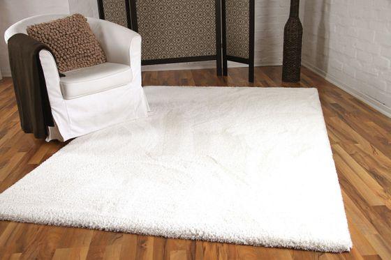 Luxus Shaggy Hochflorteppich Silky Soft Creme online kaufen