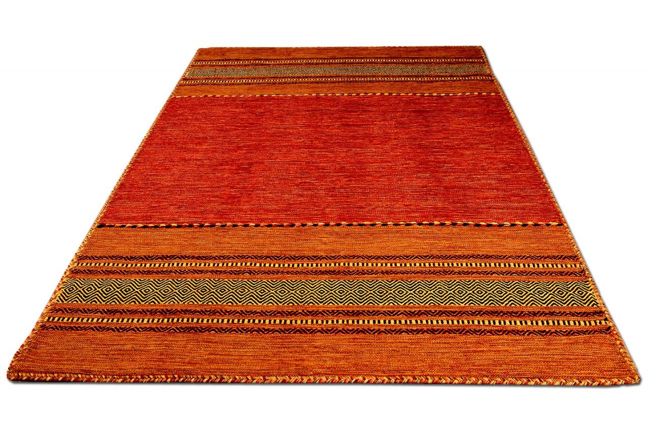 natur teppich kelim navarro terrakotta teppiche nepal. Black Bedroom Furniture Sets. Home Design Ideas