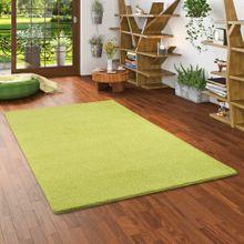 Hochflor Shaggy Teppich Palace Lindgrün online kaufen