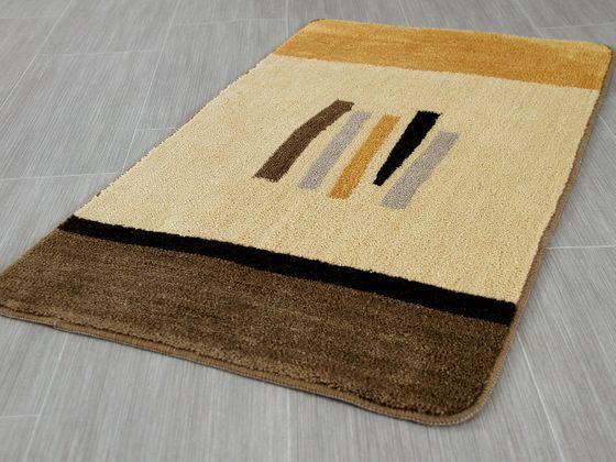 Pacific Badteppich Tobago Beige Braun in 5 Größen - ABVERKAUF online kaufen