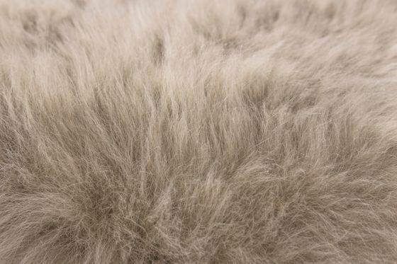 Fell-Teppich echtes Schaffell Taupe online kaufen