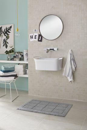 Schöner Wohnen Badteppich Santorin Kacheln Grau online kaufen
