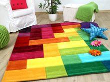 Lifestyle Kinderteppich Bunte Farbenwelt online kaufen