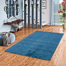 Natur Teppich Indo Gabbeh Ella Blau online kaufen