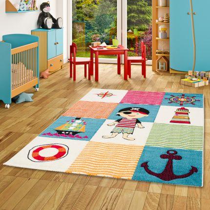 Kinder Teppich Savona Kids Piratenwelt Bunt online kaufen