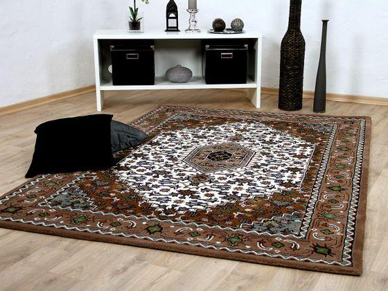 Natur Orientteppich Royal Beige Braun Bidjar online kaufen