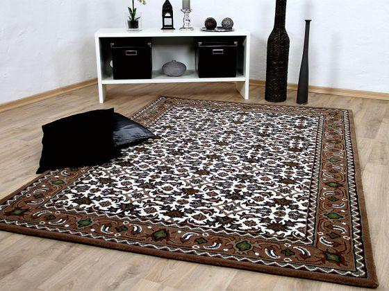 Natur Orientteppich Royal Beige Braun Herati online kaufen