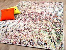 Designer Teppich Funky Action Painting Bunt online kaufen