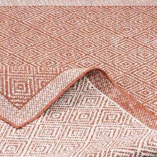 In- und Outdoor Teppich Beidseitig Flachgewebe Hampton Terrakotta Meliert online kaufen