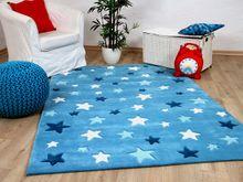 Lifestyle Kinderteppich Sterne Blau   online kaufen