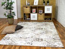 Designer Soft-Velours Teppich Finca Beige  online kaufen