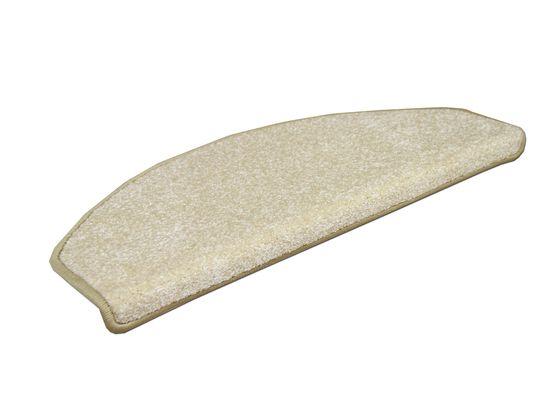Edel Velours Stufenmatte Pearl Creme (halbrund) online kaufen